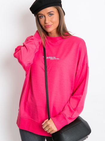 Różowa bluza Kidding