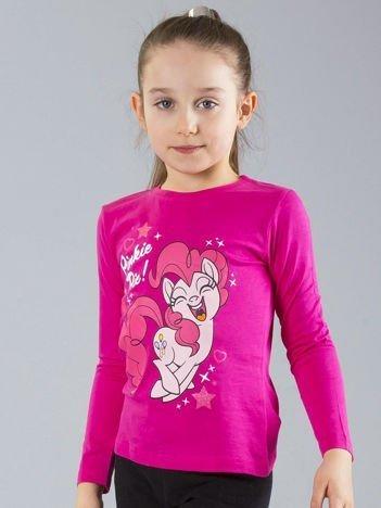 Różowa dziewczęca bluzka z nadrukiem MY LITTLE PONY