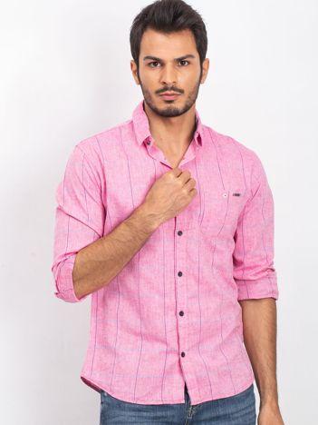 Różowa koszula męska Proudly