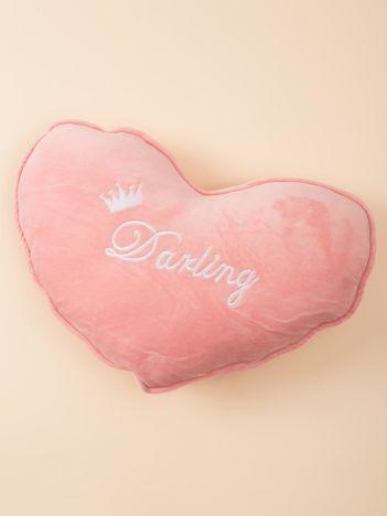 Różowa poduszka Serce