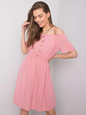 Różowa sukienka Cori SUBLEVEL
