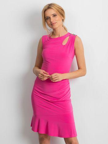 Różowa sukienka Handle