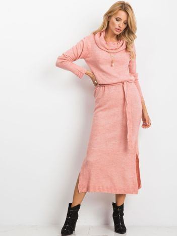Różowa sukienka Peace