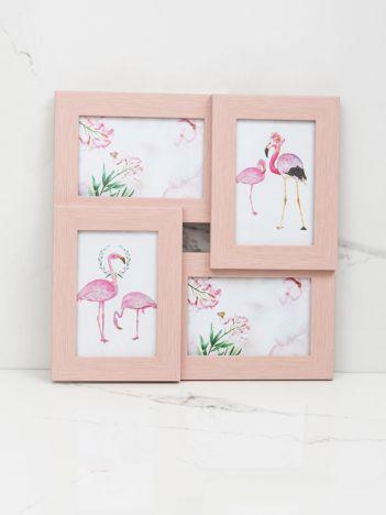 Różowe ramki na zdjęcia
