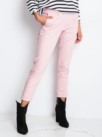 Różowe spodnie Control