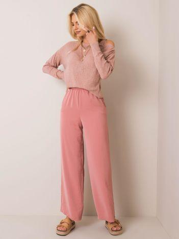 Różowe spodnie Kathleen RUE PARIS