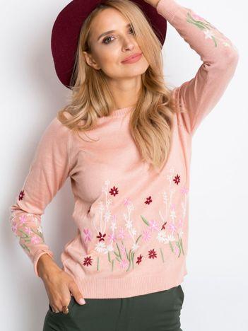 Różowy sweter Molly