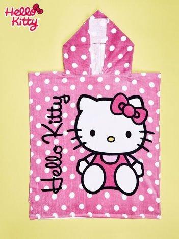Różowy szlafrok dla dziewczynki HELLO KITTY