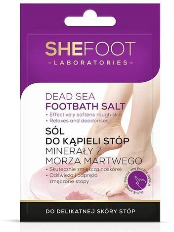 SHEFOOT Sól do kąpieli stóp - saszetka 55 g. (Foothbath Salt)