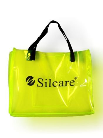 SILCARE Torba Silcare Transparent FLUO Yellow
