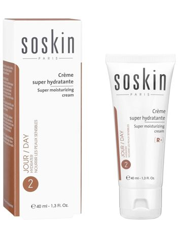 SOSKIN SUPER MOISTIRIZING CREAM Supernawilżający krem 40 ml