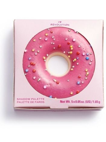 SUPER NOWOŚĆ! I ♡ Revolution Paletka cieni Donuts Raspberry Icing 1,65 g