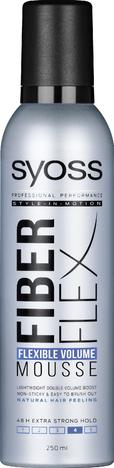 Schwarzkopf Syoss Fiber Flex Pianka do włosów extra mocna Flexible Volume  250ml