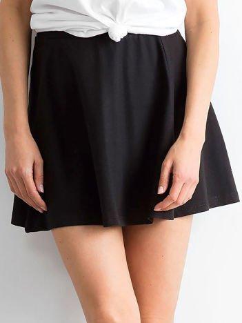 Spódnica rozkloszowana czarna