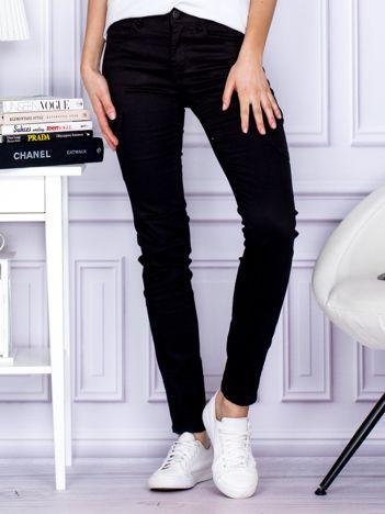 Spodnie czarne z kieszeniami PLUS SIZE