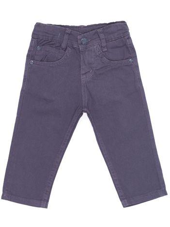 Spodnie dla chłopca ciemnoszare