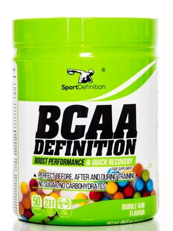 Sport Definition - Aminokwasy BCAA Definition - 465g Bubble Gum