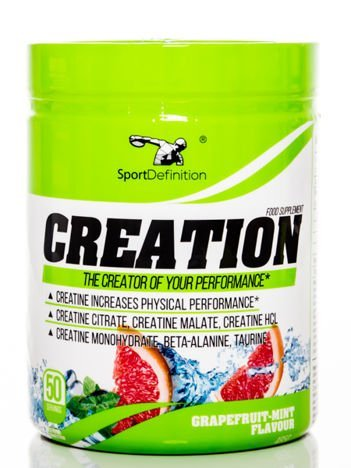 Sport Definition - Kreatyna Creation - 465g Grapefruit - Mint