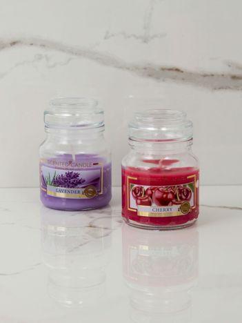 Świeca o zapachu wiśni