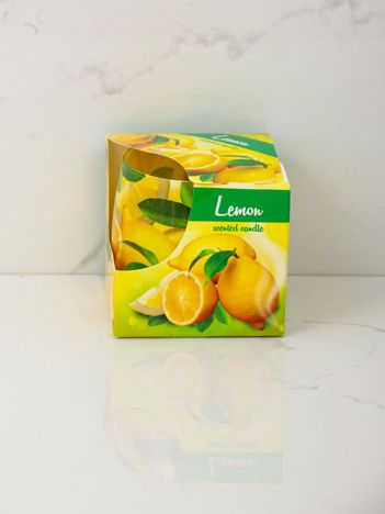 Świeca zapachowa Cytryna