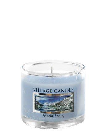 Świeca zapachowa Village Candle Mini Glass 29gr - Glacial Spring