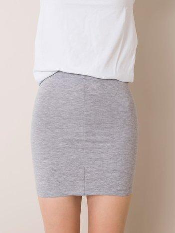 Szara bawełniana spódnica dla dziewczynki