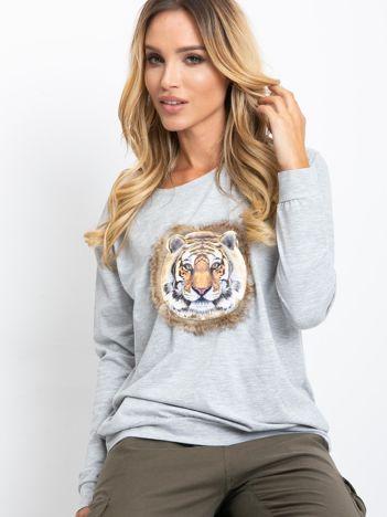 Szara bluza Palma