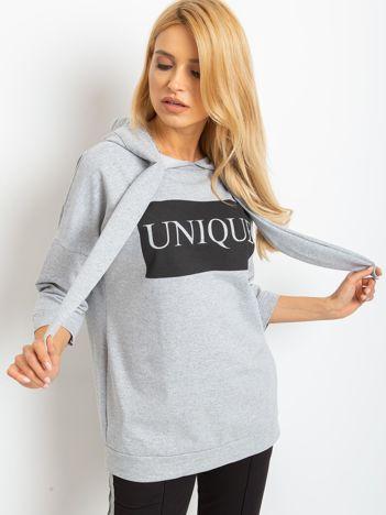 Szara bluza Unique