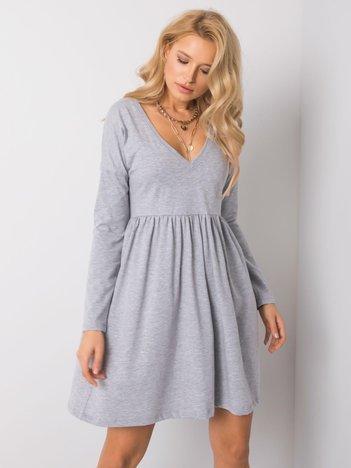 Szara melanżowa sukienka Brooke RUE PARIS