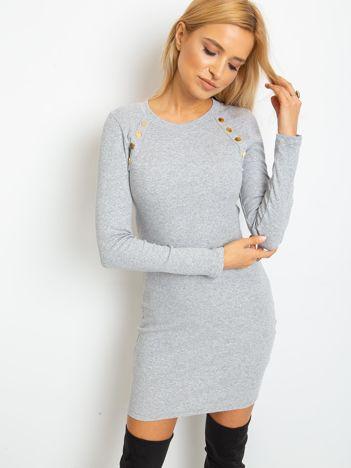 Szara sukienka Desirable