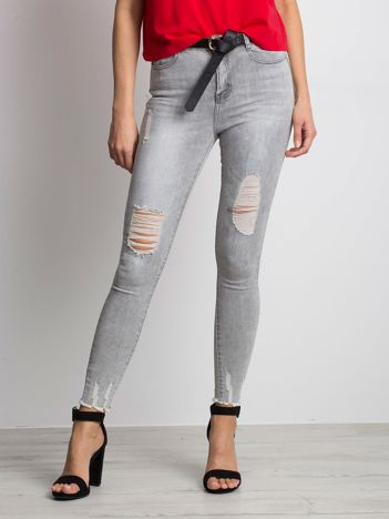 Szare jeansy Formula