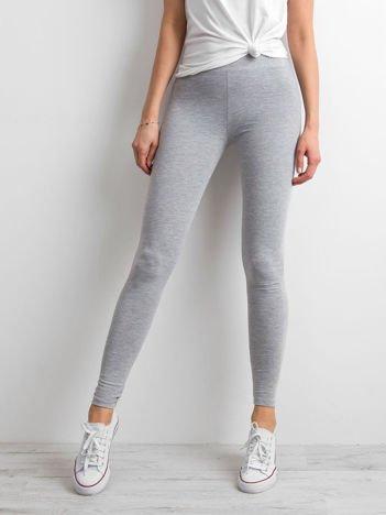 Szare legginsy Basic
