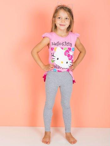 Szare legginsy dla dziewczynki