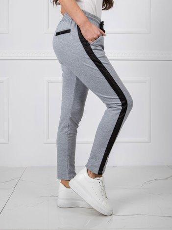 Szare spodnie Active