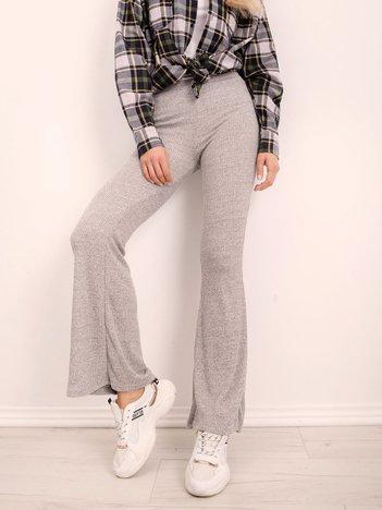 Szare spodnie BSL