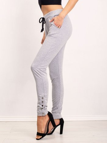 Szare spodnie Best