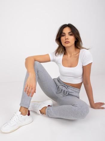 Szare spodnie Cadence