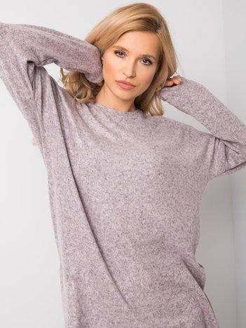 Szaro-różowa bluzka Ayla