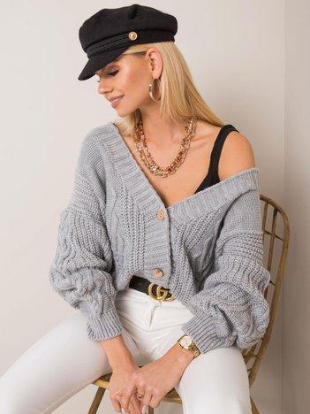 Szary sweter Gianna OCH BELLA