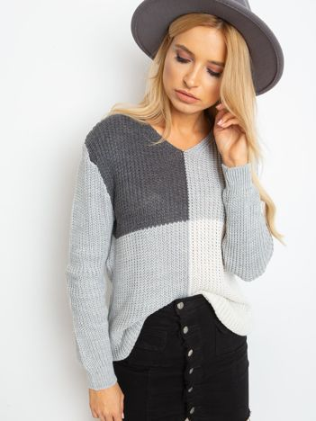 Szary sweter Latina