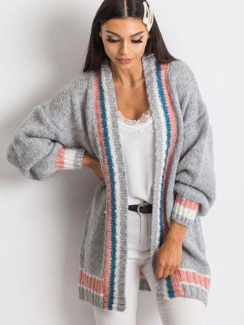 Szary sweter Lavish