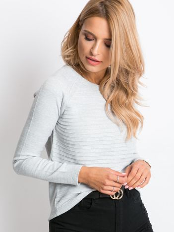 Szary sweter Sienna