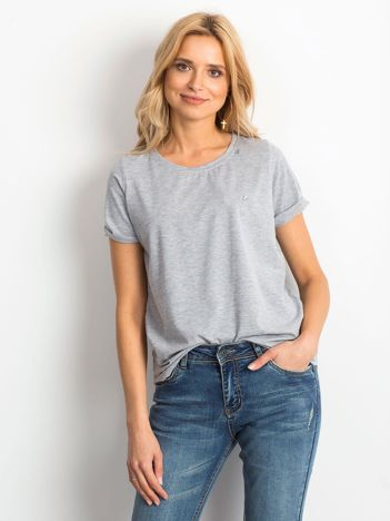 Szary t-shirt Transformative