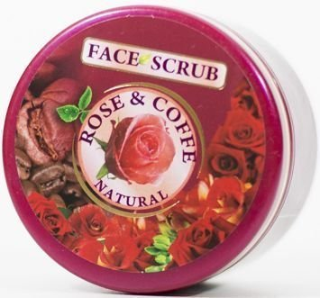 THE ROSE Peeling do twarzy Róża i Kawa 100 ml