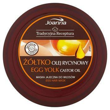 TRADYCYJNA RECEPTURA Maska pielęgnująca Żółtko i olej rycynowy 250g