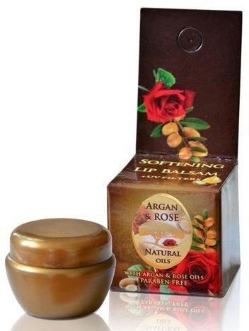 The Rose Balsam do ust w słoiczku Argan & Rose 5 ml