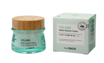 The SAEM Iceland Water Volume Cream Krem nawilżający do twarzy - cera tłusta  80ml""