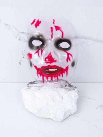 Transparentna maska z krwią
