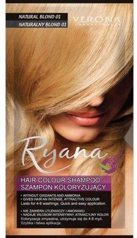 VERONA SZAMPON KOLORYZUJĄCY RYANA II NR 001 naturalny blond 30 ml