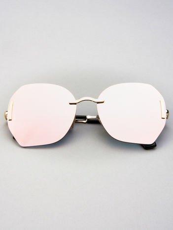 VICS Okulary przeciwsłoneczne LUSTRZANKI PINK